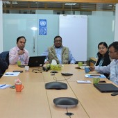 Meeting on low-cost housing in Cox's Bazar